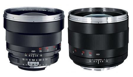 Nuevos objetivos Carl Zeiss para Canon