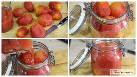 Rehacer Conservas Tomate