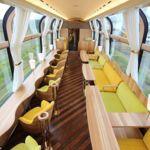 Mira lo que se siente viajando en este tren panorámico japonés