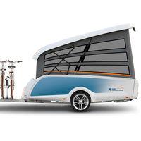 Este invento es a la vez remolque, caravana y tienda de campaña para hacer camping con lo mínimo desde 13.495 euros