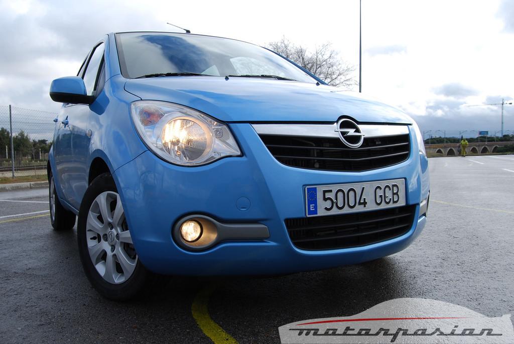 Opel Agila (prueba)