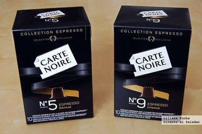 Nuevo café en cápsulas Carte Noire. Probamos dos de sus variedades