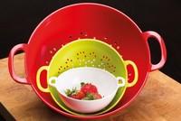 Los escurridores más prácticos, alegres y coloristas para tu cocina