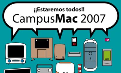 Ya está lista la agenda definitiva de la CampusMac 2007
