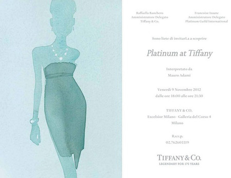 Platinum at Tiffany