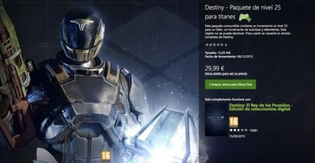 Destiny Pack Aumento Titan