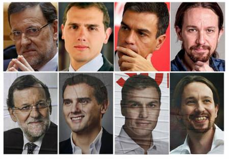 Las fotos de la campaña electoral del #20D: el lenguaje oculto