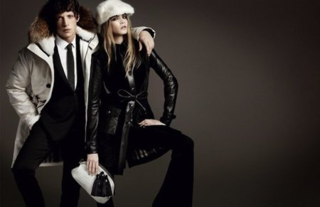 Campaña Burberry Otoño-Invierno 2011/2012: somos guapos, jóvenes y vestimos bien
