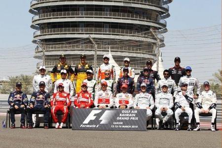 Así está la parrilla 2011 de Fórmula 1