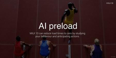 MIUI 10 AI preload