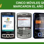 Cinco móviles que marcaron el año 2007