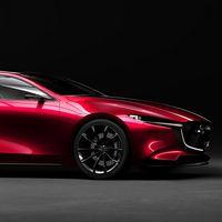 El Mazda Kai Concept es el prototipo que tarde o temprano será el nuevo Mazda3