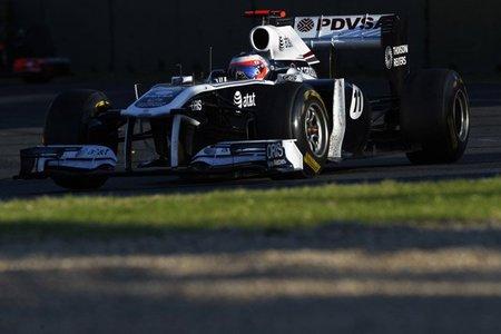 El alerón trasero móvil de Rubens Barrichello estaba mal configurado