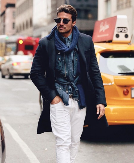 Mariano Di Vaio New York Fashion Week Street Style 2
