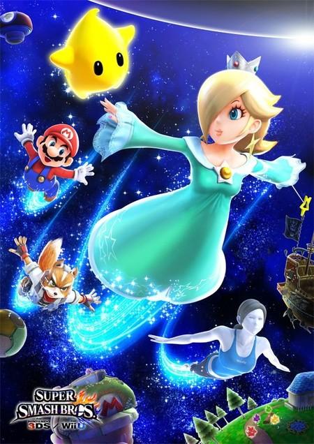 Bonita presentación de Estela y Destello en 'Super Smash Bros. for Nintendo 3DS & Wii U'