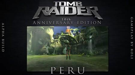La comunidad de jugadores lo vuelve a hacer: sale a la luz el remake perdido para PSP del décimo aniversario de Tomb Raider