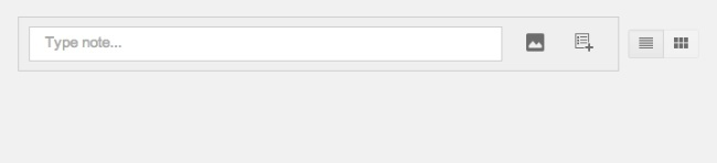 google keep crear nota