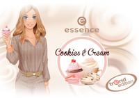 Dulce y muy apetecible es la colección Cookies & Cream de Essence