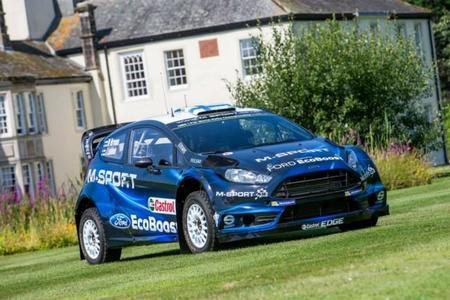 M-Sport presenta el renovado Ford Fiesta RS WRC