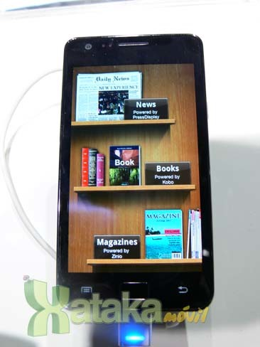 Samsung Galaxy S II en el MWC