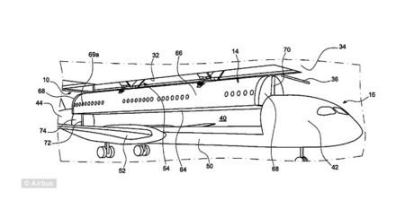 Airbus quiere reducir tiempos de espera patentando aviones con cabinas desmontables