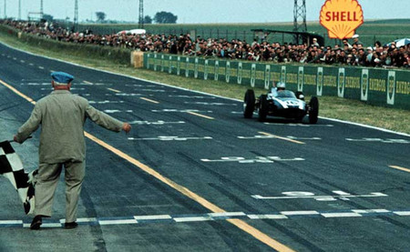 Jack Brabham Reims 1960