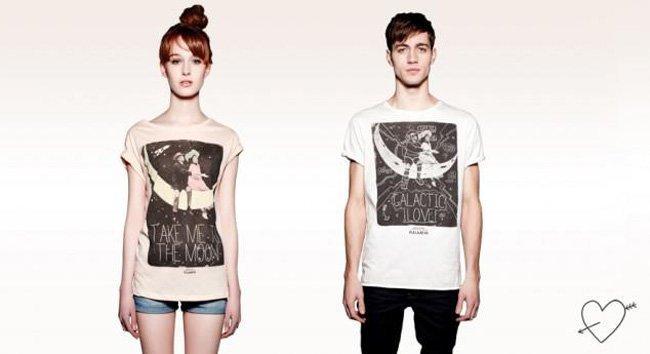 Camisetas Just Love de Pull & Bear