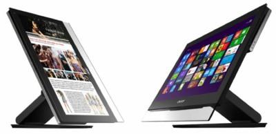Nuevos Acer Aspire All-in-one, con grandes pantallas táctiles pensadas en Windows 8
