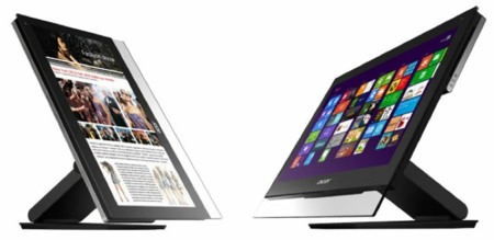 Nuevos Acer Aspire All-in-one, con grandes pantallas táctiles pensadas en Windows 8