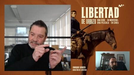 """""""La idea con 'Libertad' no es qué versión ves antes, sino cuál eliges ver"""". Enrique Urbizu"""
