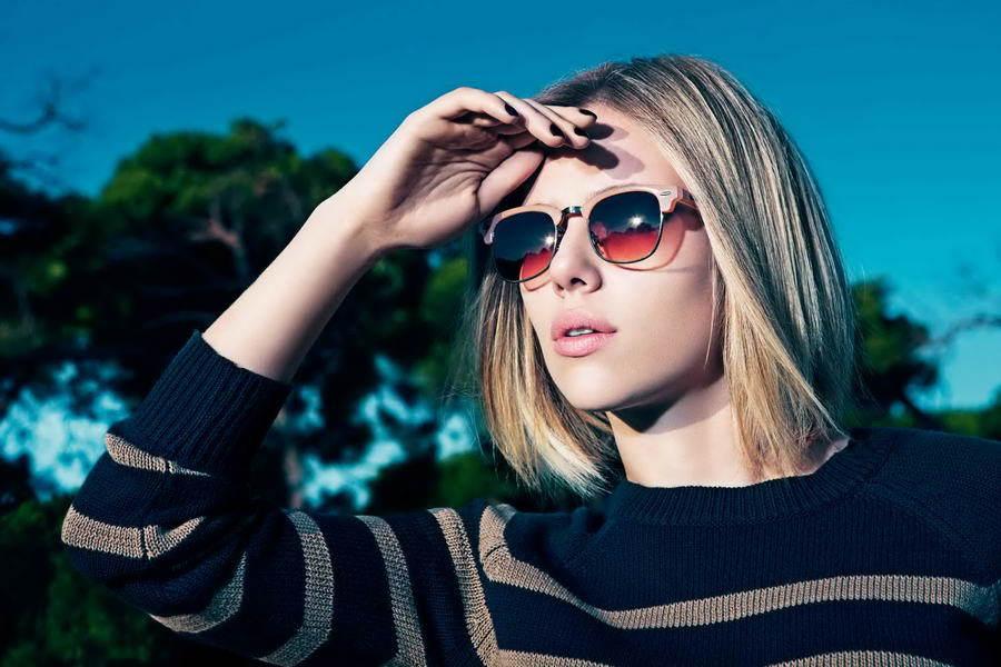 Foto de El look de Scarlett Johansson en la campaña de Mango Primavera-Verano 2011 (2/4)