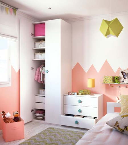 Una habitación para jugar y soñar: ideas divertidas para los peques