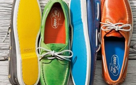 Tendencias en calzado: los náuticos más coloridos