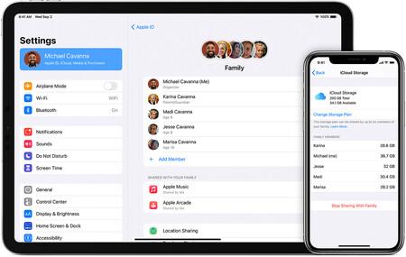 Ios14 Iphone 11 Pro Ipad Pro Family Sharing Share Icloud Storage Hero