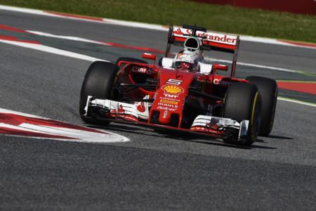 Vettel Gp Espana 2016