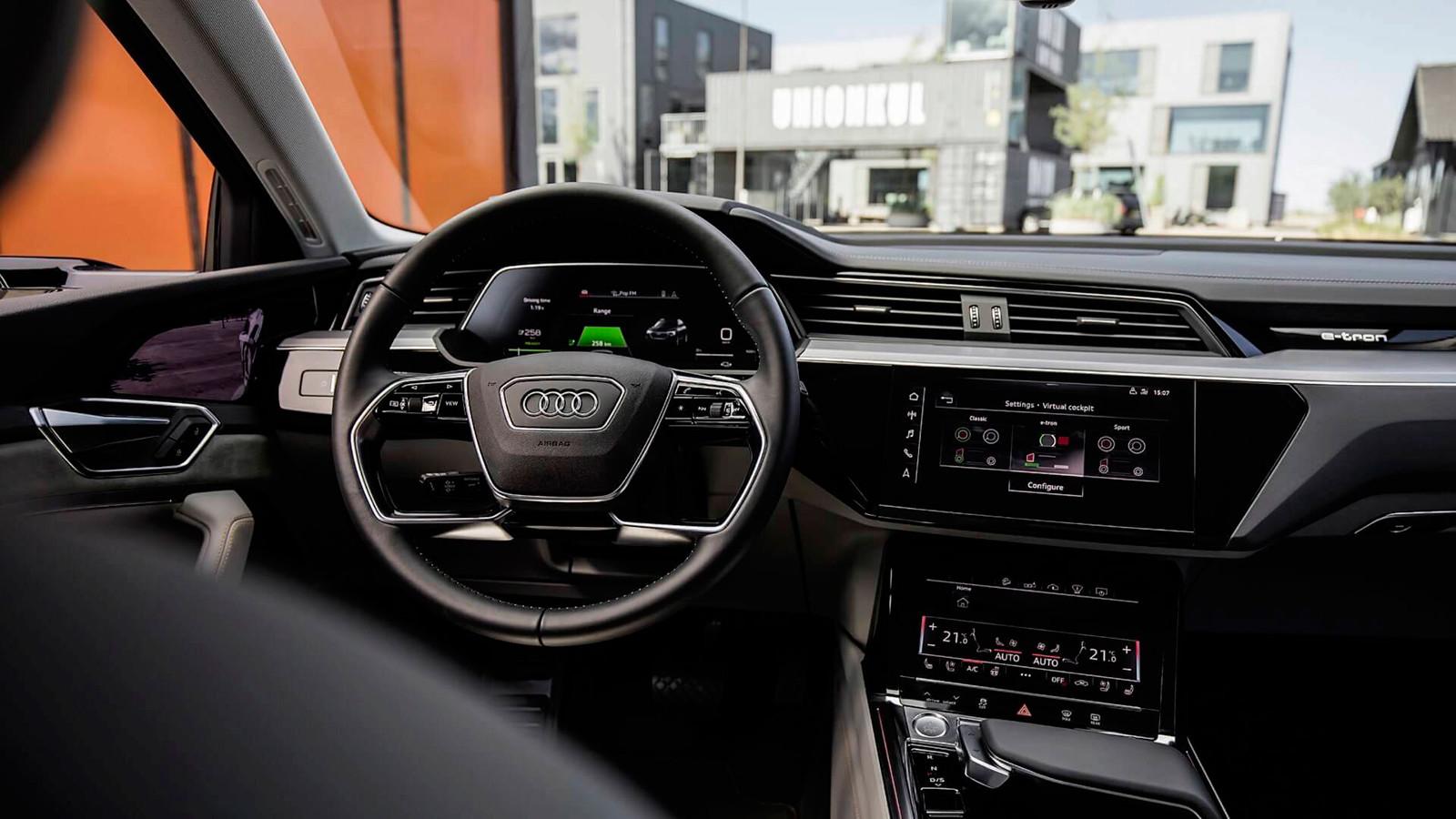 Foto de El habitáculo del Audi e-tron, al descubierto (10/19)