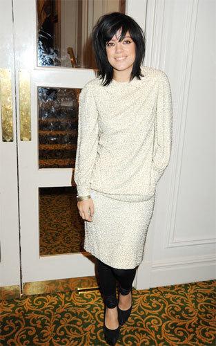 Lily Allen en los Premios Q