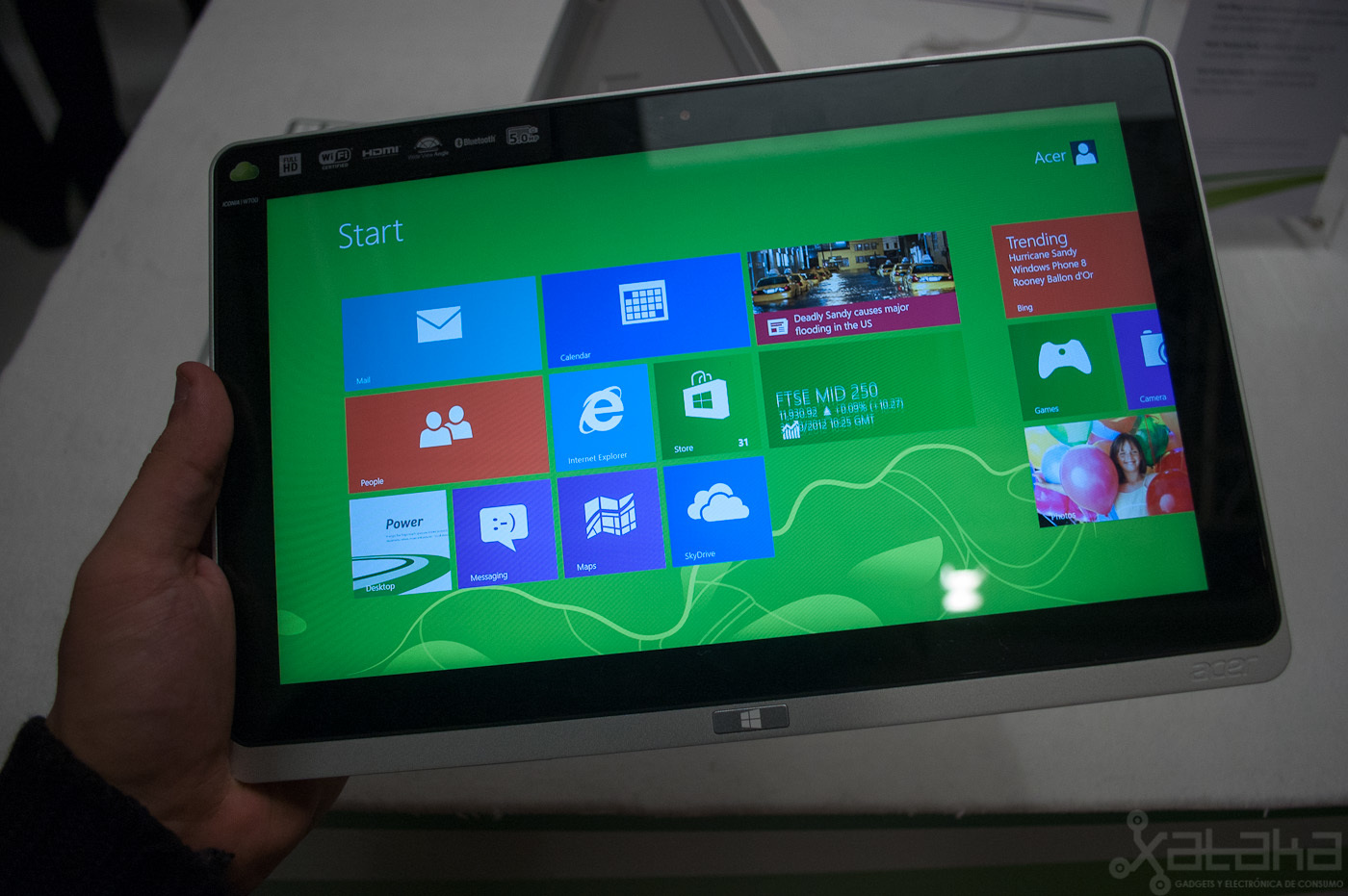 Foto de Acer Iconia W700, primeras impresiones (4/15)