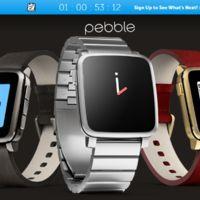 Pebble podría estar a punto de presentar un nuevo reloj circular