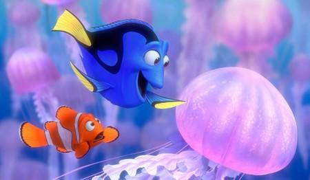 Marlin Dory Buscando A Nemo Medusa Pez 130111
