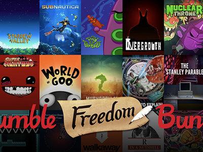 Llévate más de 40 juegos indies con el nuevo Humble Bundle llamado The Freedom Bundle