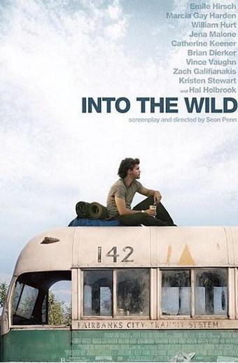 Póster de 'Into the Wild' de Sean Penn