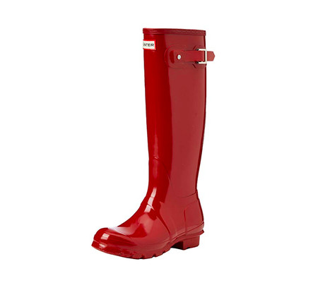 Botas Hunter Rojo Charol