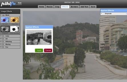 PikiFX, otro editor online de imágenes para la colección