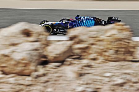 Russell Sakhir F1 2021