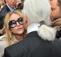 Las Olsen en la front row de Chanel
