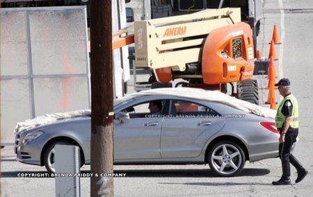 Mercedes CLS 2011, fotos espía