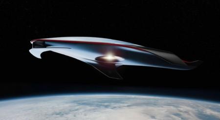 La nave espacial diseñada por Ferrari es tan asombrosa que merecería estar en Star Wars