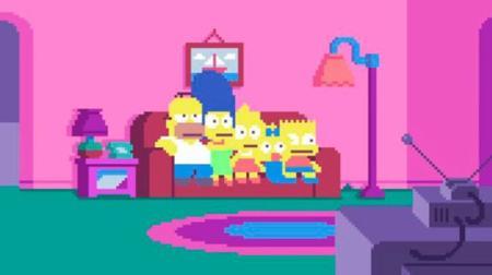 La intro de Los Simpson que nos faltaba era esta: la de 8 bits