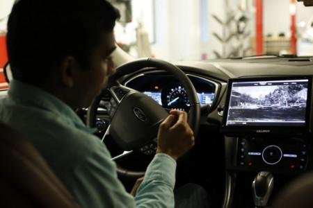 Vehiculo Autonomo Ford 4